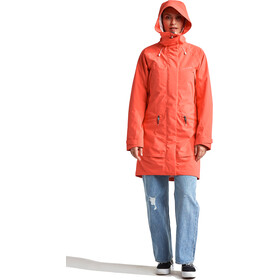 DIDRIKSONS Ilma Parka Femme, coral red